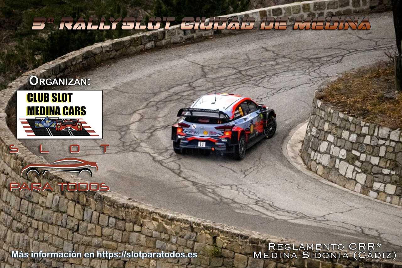 3º RallySlot Ciudad de Medina